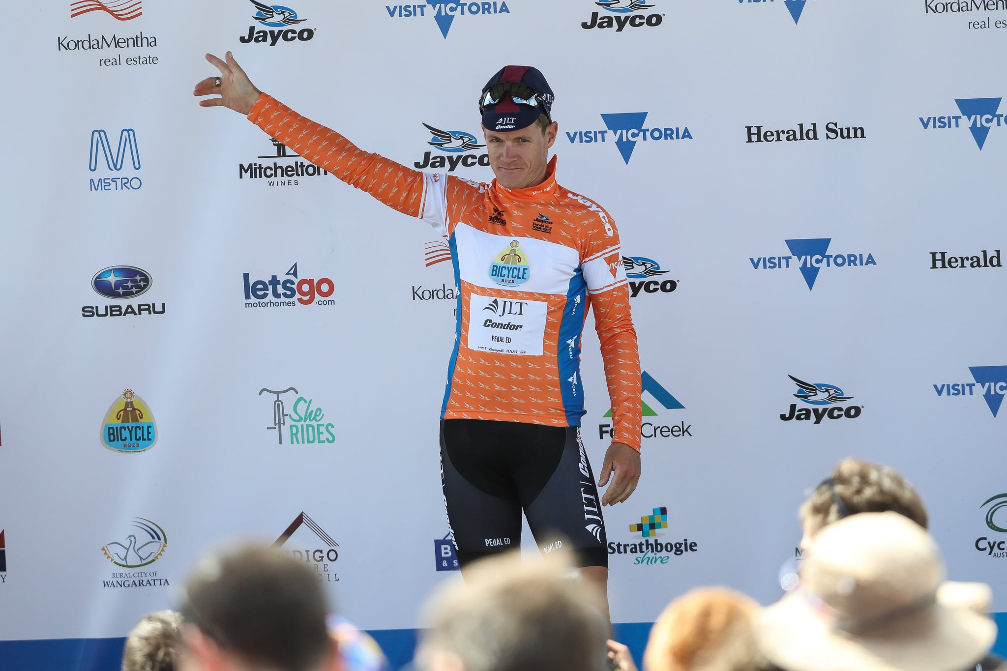 Lampier awarded most aggressive jersey