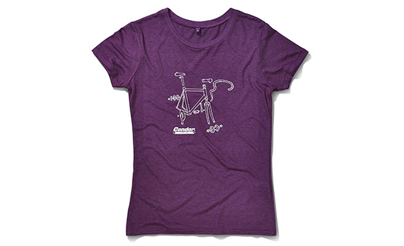 Condor Women's Bike Illustration T-Shirt