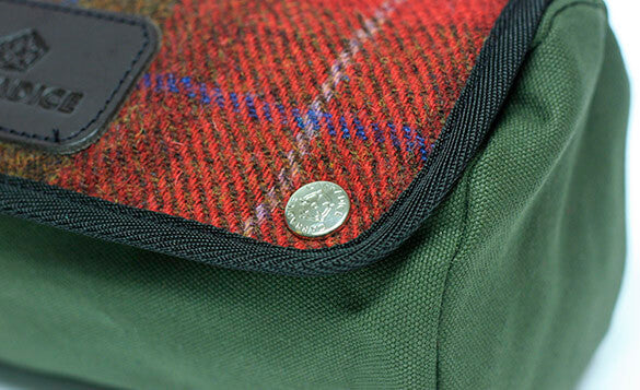 Carradice Zipped Roll - Tweed Munro