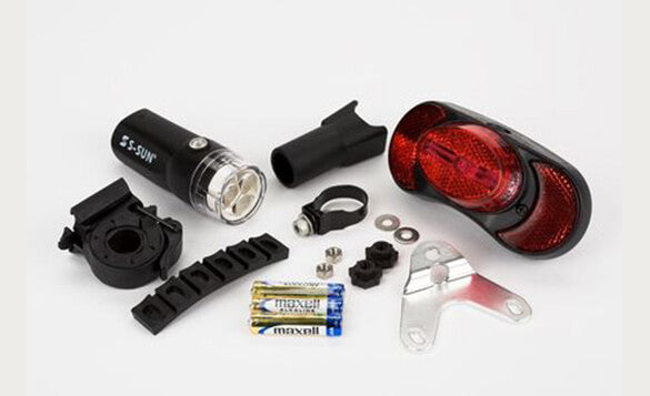 Brompton Battery LED Light Set Complete