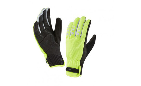 Sealskinz All Weather Cycle XP Glove Hi Vis Yellow