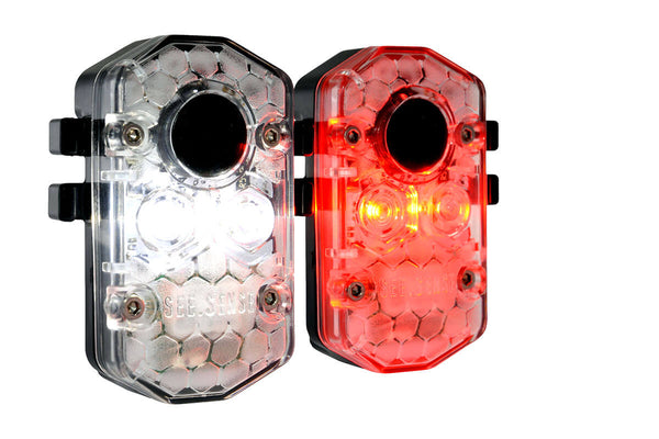 See Sense Icon + Intelligent Bicycle Lights