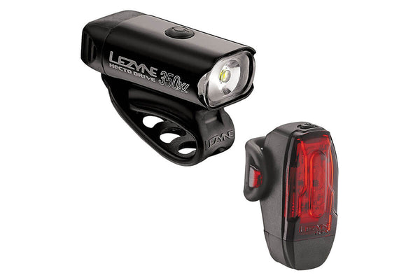 Lezyne Hecto Drive 350Xl and KTV Light Set