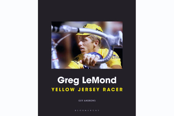 Greg Lemond, Yellow Jersey Racer by Guy Andrews