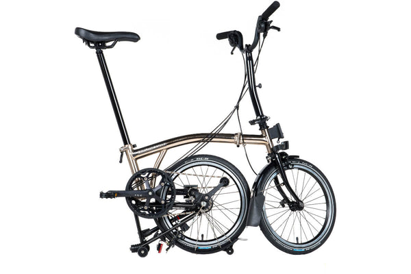 Brompton M6L Nickel Black Edition 2017 Folding Bicycle