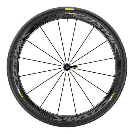 Mavic Cosmic Pro Carbon Exalith Front Wheel - WTS