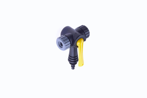 Topeak Replacement Joe-Blow Twin head without hose for track floor pump