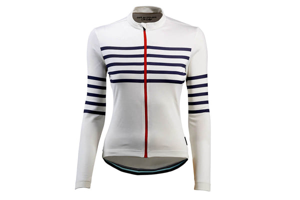 Cafe Du Cycliste Claudette Long Sleeve Womens Jersey