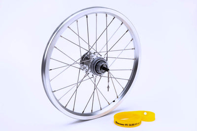 Brompton Rear Wheel for 6 Speed including Fittings