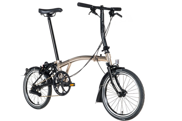 Brompton S2L Nickel Edition 2017 Folding Bike