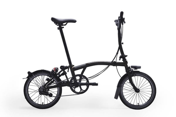Brompton M6R Black Edition 2018 Folding Bike