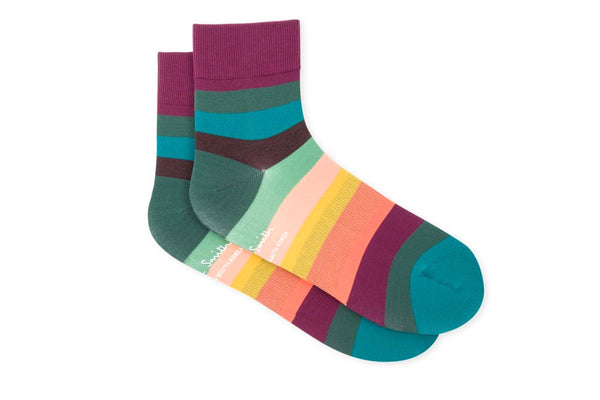 Paul Smith Artist Stripe Cycling Sock