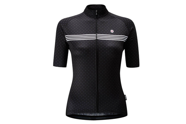 Chapeau Madeleine Polka Stripe Ladies Short Sleeve Jersey
