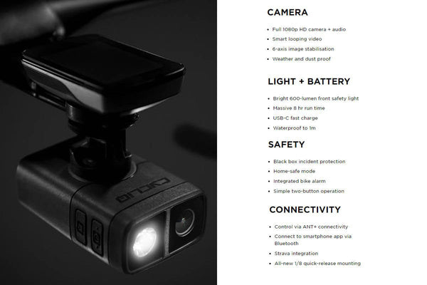 Cycliq Fly 12 CE Light with Camera