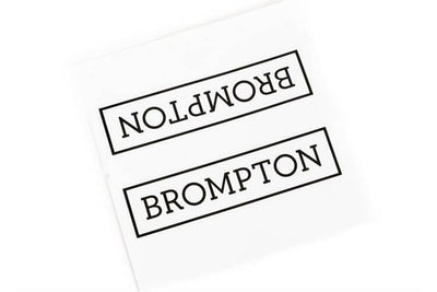 Brompton Decal for Main Frame