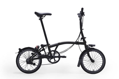 Brompton M6R Black Edition 2020 Folding Bike