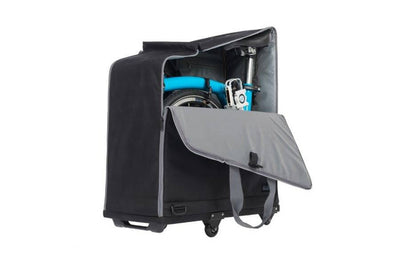 Brompton Transit Travel Bag with 4 Rollers