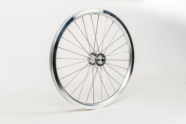 Brompton Superlight Front Wheel including Fittings