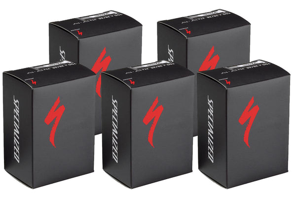 Specialized 60mm Presta Valve Inner Tube 5 Pack