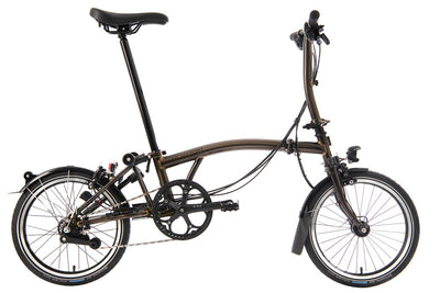 Brompton S6L-X Superlight Black Edition 2020 Folding Bike
