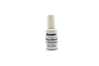 Condor Touch Up Paint for Brompton - White (Electric)