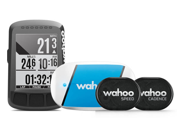 Wahoo Elemnt Bolt Stealth Edition GPS Cycle Computer with Sensors