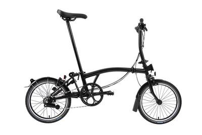 Brompton S6L Black Edition 2021 Folding Bike