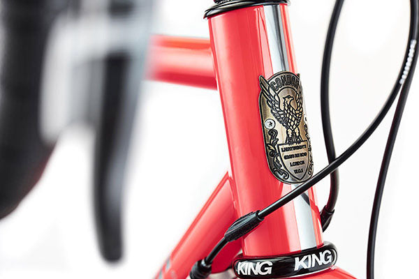 44mm head tube with Chris King headset