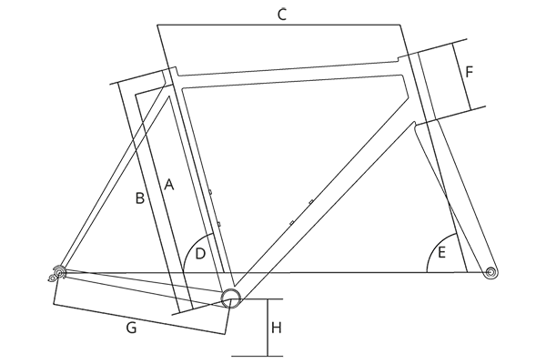 Frame Geometry Diagram
