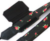Black Camera strap with flowers. DSLR / SLR Camera Strap. Camera accessories. Durable, light weight and well padded camera strap.