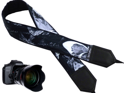 InTePro Camera strap with butterflies.