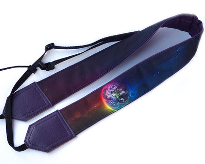 Personalized camera strap. Space camera strap suitable for all professional and standard cameras.