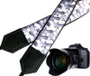 Giraffe camera strap. Black and white Camera strap. DSLR / SLR Camera Strap. Photographer accessory by InTePro