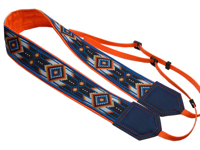 Camera strap inspired by Native American. Southwestern Ethnic Camera strap. Personalized Camera Strap. Camera accessories by InTePro