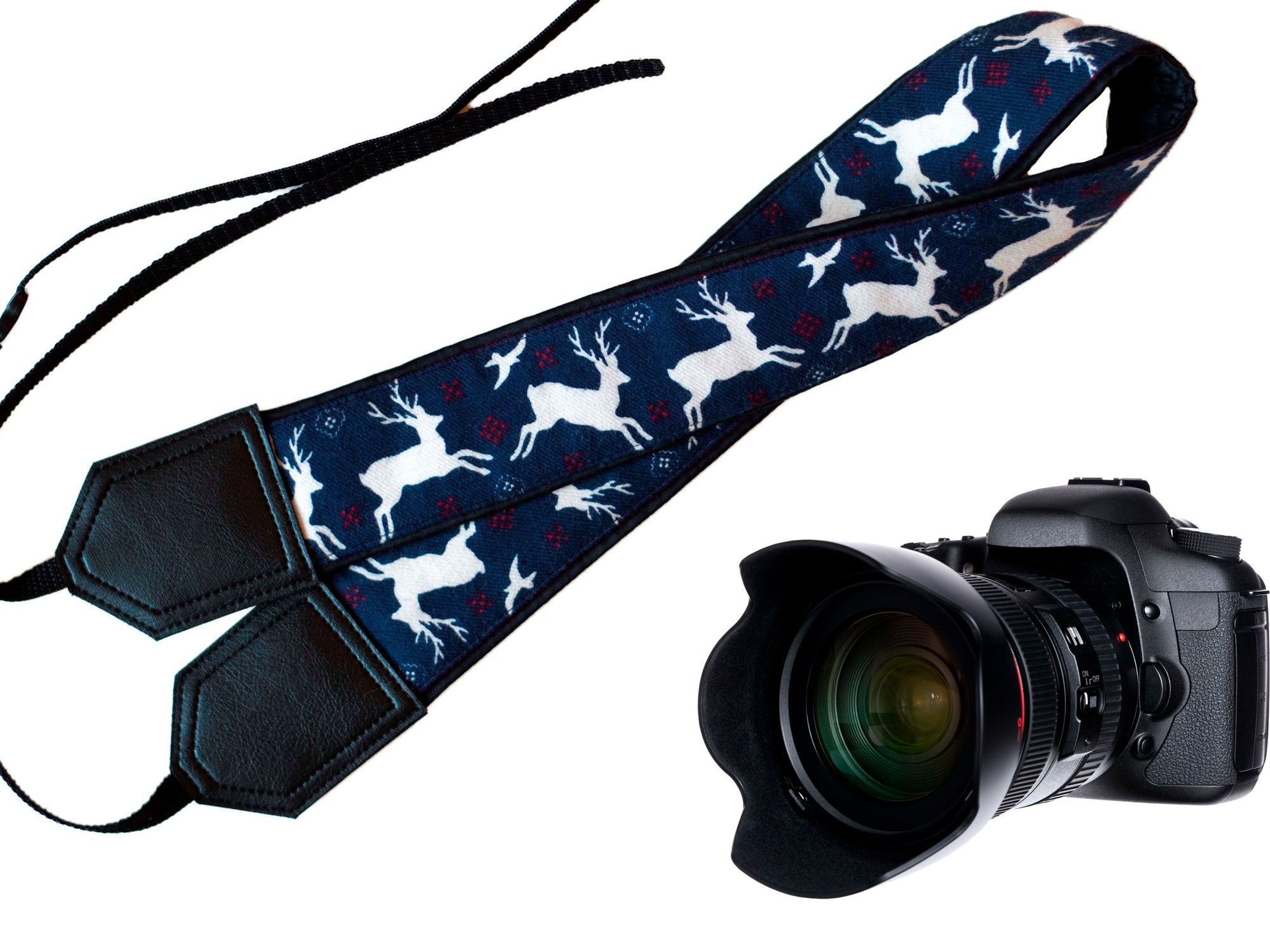 Deer Camera Strap. DSLR / SLR Camera Strap. Camera accessories. Photographer gift. Christmas gifts by InTePro