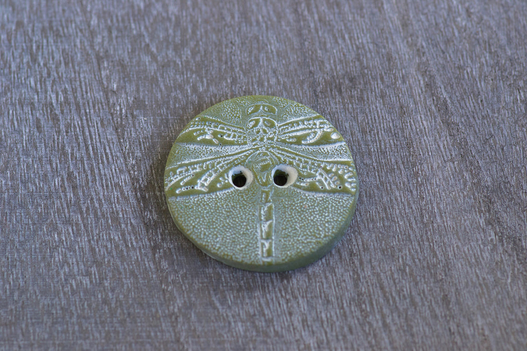Dreamy Dragonfly Buttons