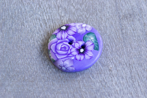 Very Violet Buttons