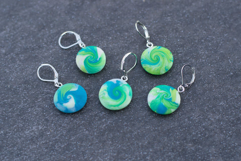 Lovely Lagoon Stitch Markers