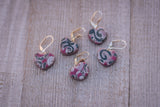 Blackberry Swirl Stitch Markers