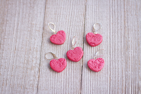 Cupid's Crush Stitch Markers