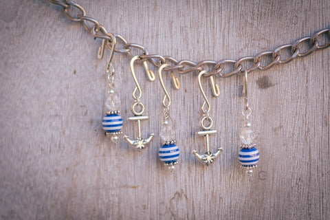 Anchors Away Stitch Markers