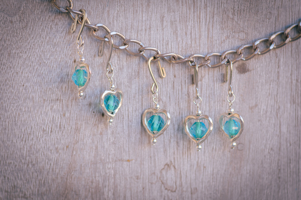 Ocean Crush Stitch Markers