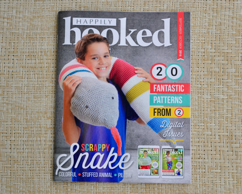 Happily Hooked Magazine - September/October 2016 Print Issue