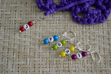 Beaded Hook Size Stitch Markers