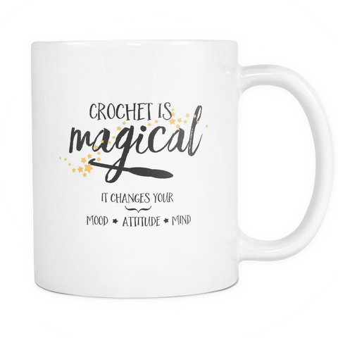 Crochet is Magical Mug