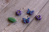 Mariposa Meadow Stitch Markers