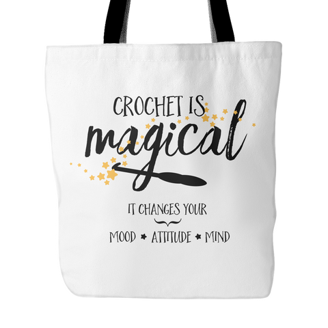 Crochet is Magical Tote