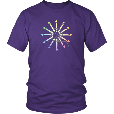 Crochet Color Wheel Shirt