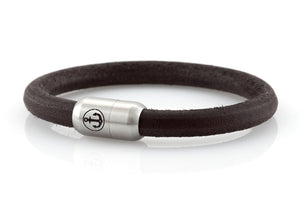 bracelet-man-Bootsmann-8-Neptn-leather-core-anker-stahl-brown