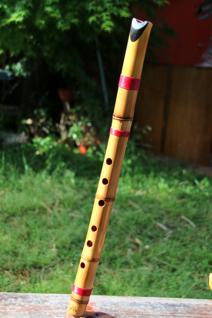 Shakuquenachos in Re/D - Shakuhachi and Quena Hybrid Bamboo and Ebony